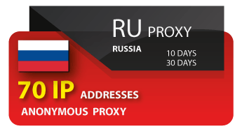 Russia proxy 70 IP