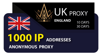 ENGLISH proxy 1000 IP addresses