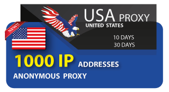 US proxy 1000 IP addresses