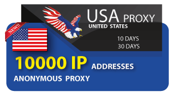 USA proxy list 10000 IP addresses